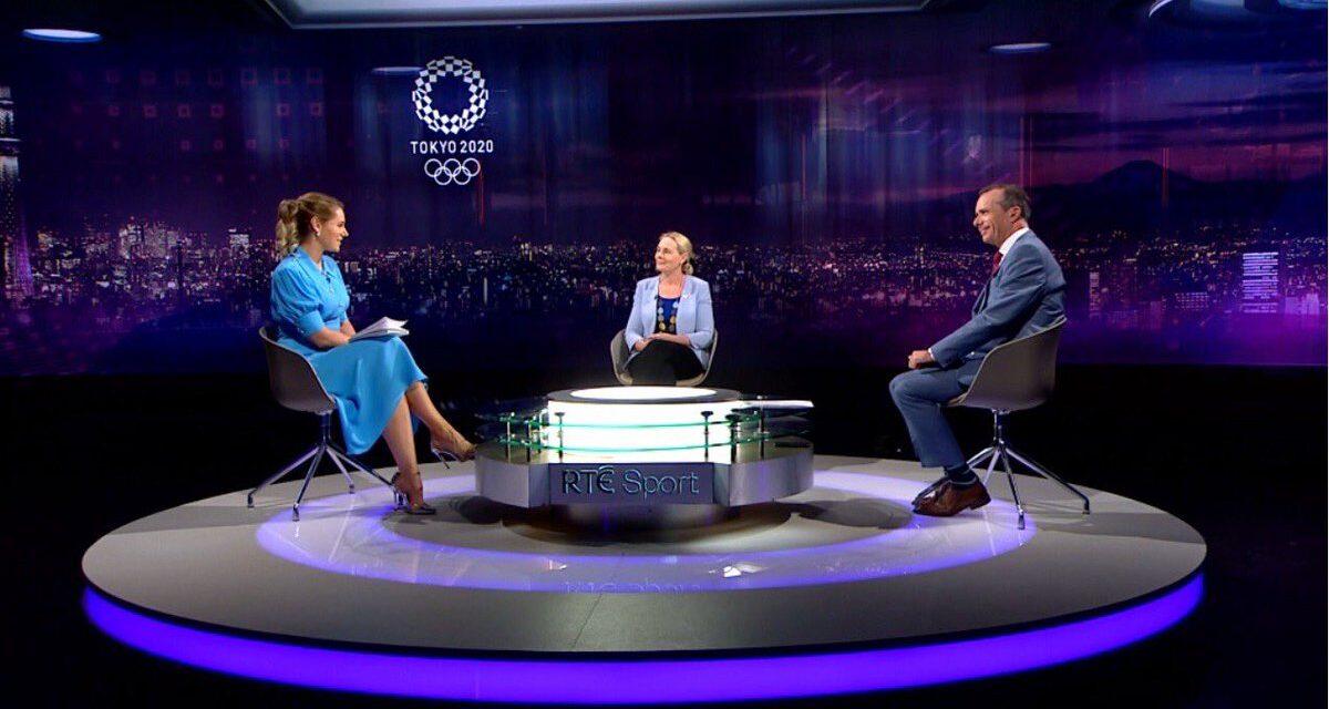 RTÉ's Olympic Reflection Hits the Spot