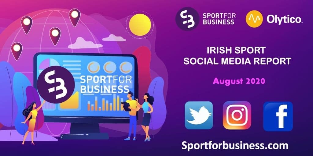 Irish Sport on Social Media Report – August 2020