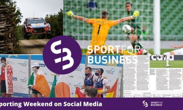 The Sporting Weekend on Social Media