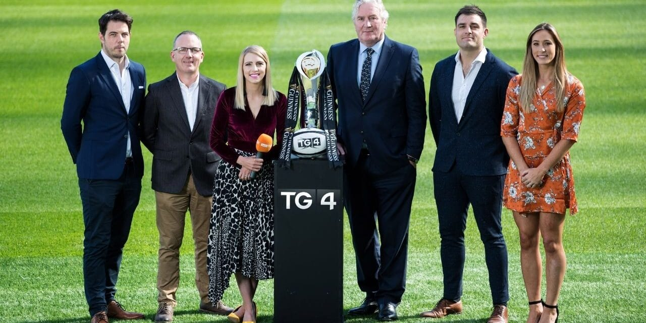 TG4 Rugby To Hit Ground Running