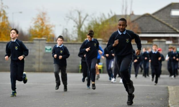 Daily Mile Now Being Run in 1,000 Schools
