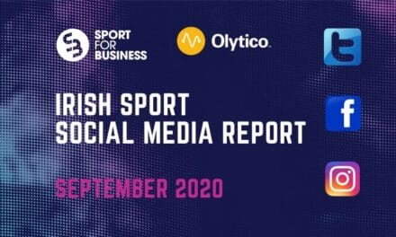 Irish Sport Social Media Report – September 2020