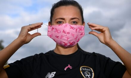 Ireland Women Backing Breast Cancer Awareness