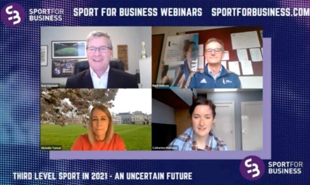 Sport for Business Webinar on Third level Sport – Playback