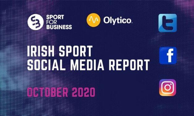Irish Sport Social Media Report – October 2020