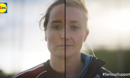 Split Screen Ladies Footballers from Lidl
