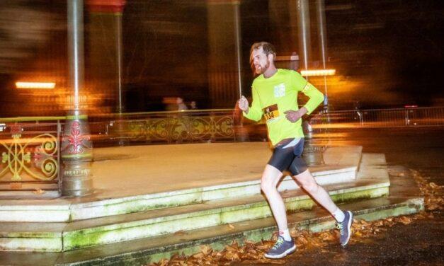Virtually Running in the Dark