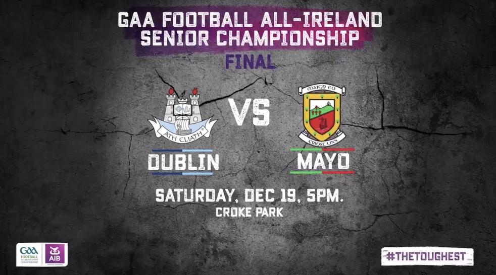 Activating Saturday's All Ireland Football Final