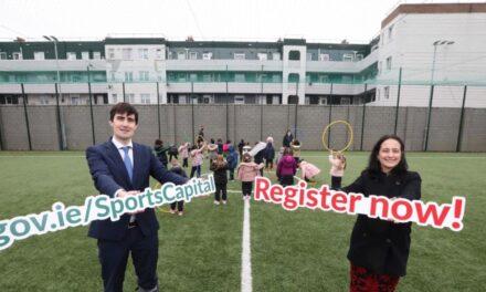 Green Light for €40 Million Sports Capital Funding