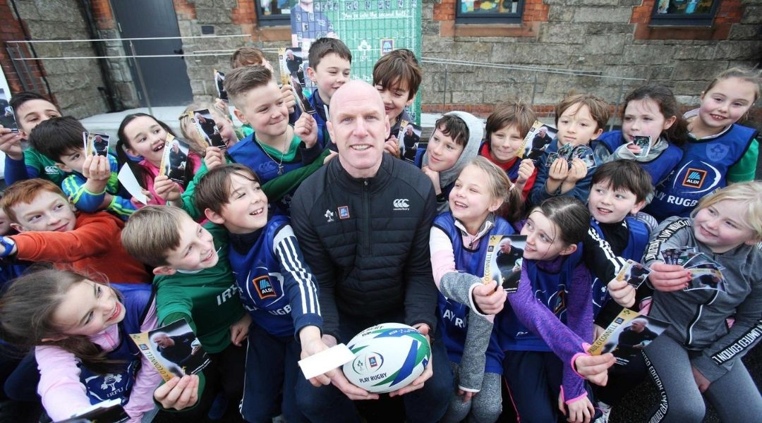 O'Connell Takes on Coaching Role with Irish Rugby