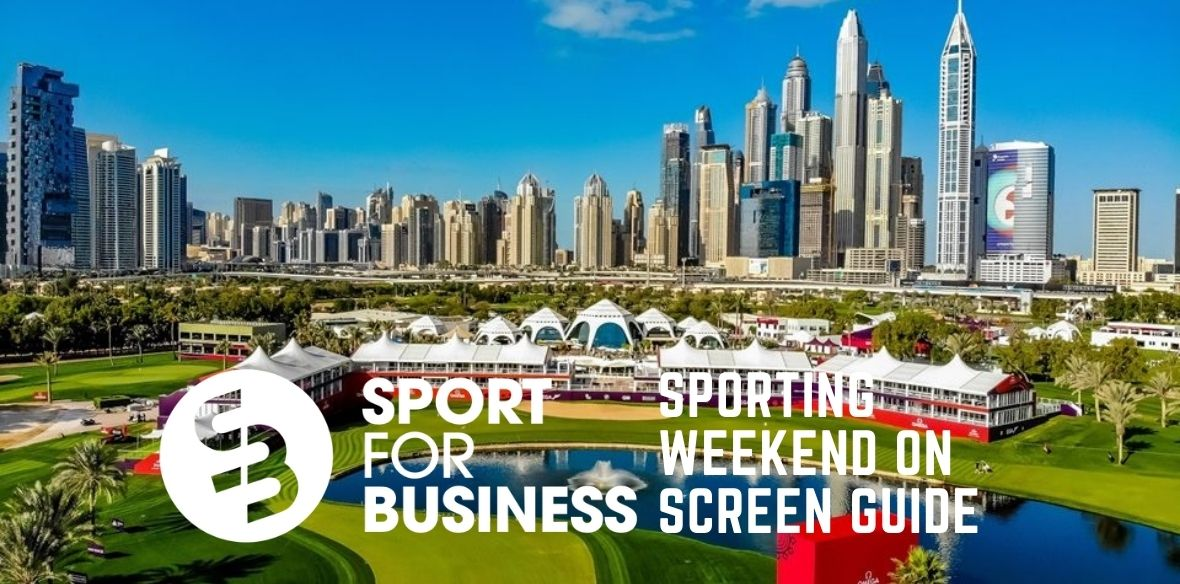 The Sporting Weekend On Screen