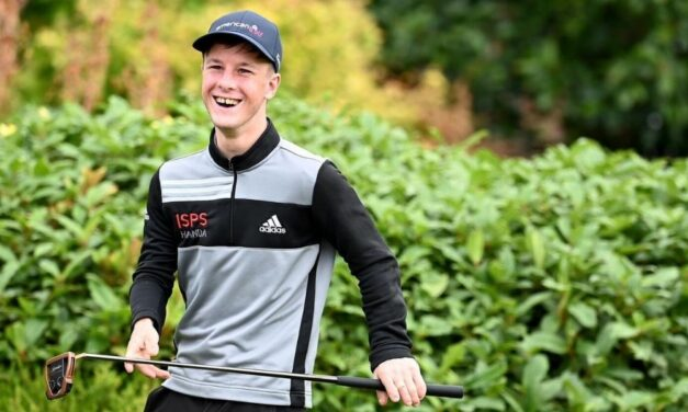 Young Irish Golfer Lawlor Signs for adidas