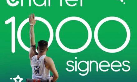 Cara Charter Hits 1,000