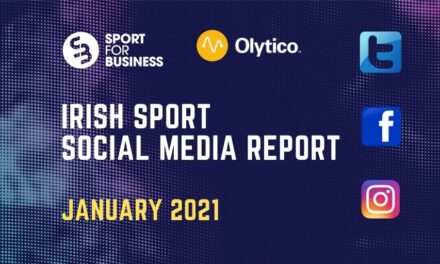 Irish Sport on Social Media Report – January 2021