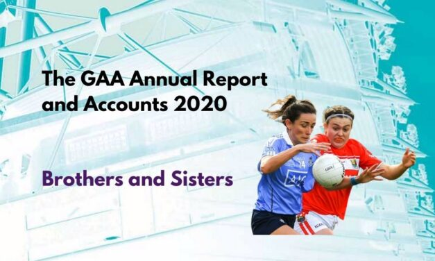 GAA Annual Report and Accounts 2020 – Brothers and Sisters