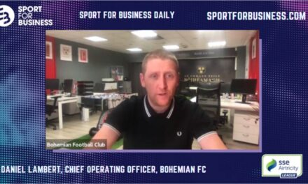 Sport for Business Daily with Daniel Lambert of Bohemian FC