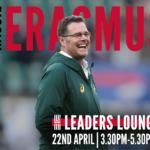 Erasmus Named as Keynote for Leaders Lounge