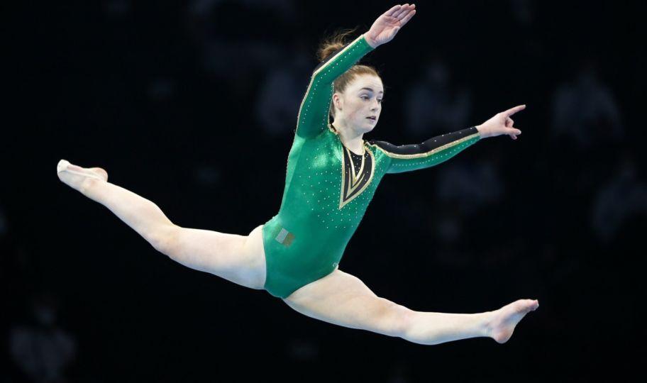 Slevin Makes Gymnastics History for Ireland