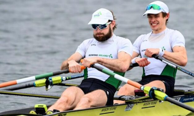Gold and Silver for Irish Rowers
