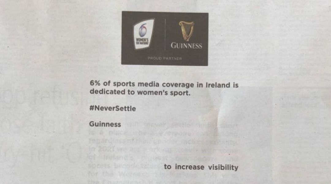 Backing Coverage of Women in Sport