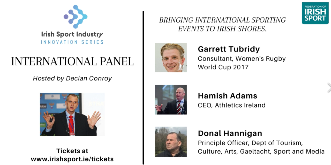 International Speakers Named for Sport Industry Series