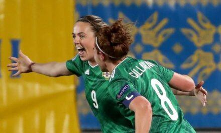 Northern Ireland Women on the Brink of Euro's