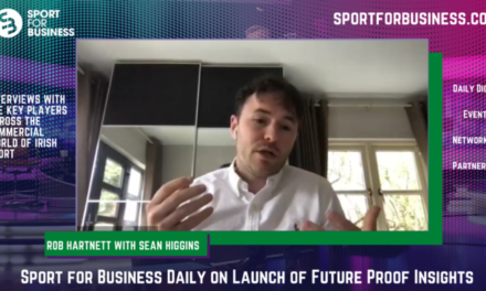 Sport for Business Daily on Launch of Future Proof Insights