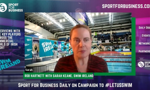 Sport for Business Daily on the Campaign to #LetUsSwim