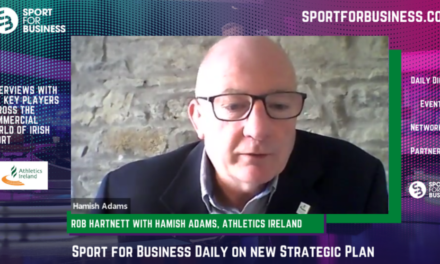 Sport for Business Daily with Hamish Adams of Athletics Ireland