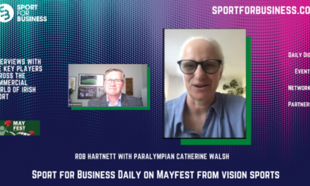 Sport for Business Daily with Catherine Walsh on Mayfest