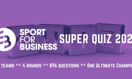 The Draw for the 2021 Sport for Business Super Quiz