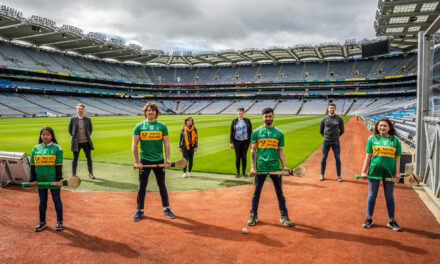 Leitrim Hurlers Strike No to Racism Sponsorship