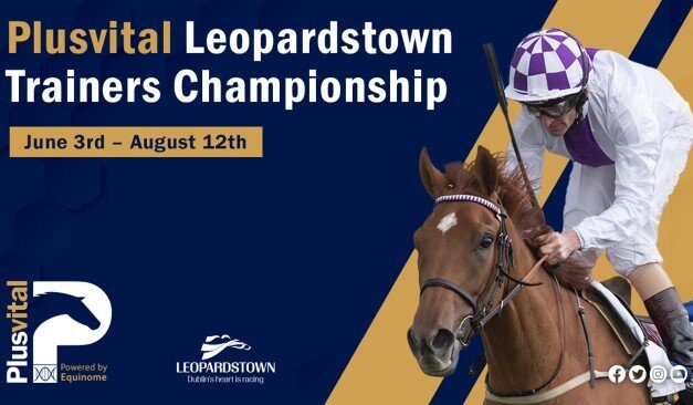 Plusvital to Sponsor Trainers Championship at Leopardstown