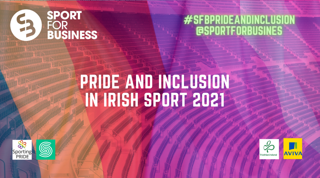 Live This Morning for Pride and Inclusion in Irish Sport