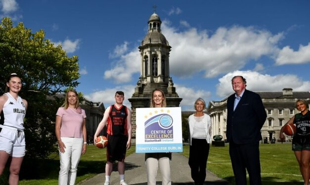 Trinity Joins Line Up of Basketball Centres of Excellence