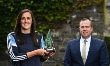 Tyrell Lands LGFA Player Award for May