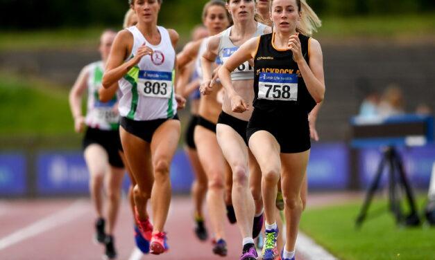 Athletics Stars Gather at Santry