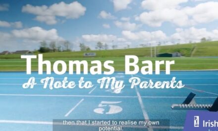 Thomas Barr's Thank You