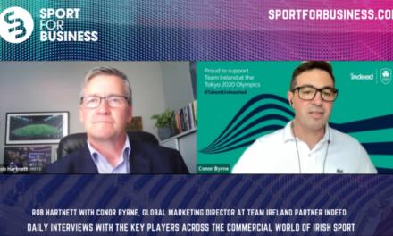 Building a Partnership Between Indeed and Team Ireland