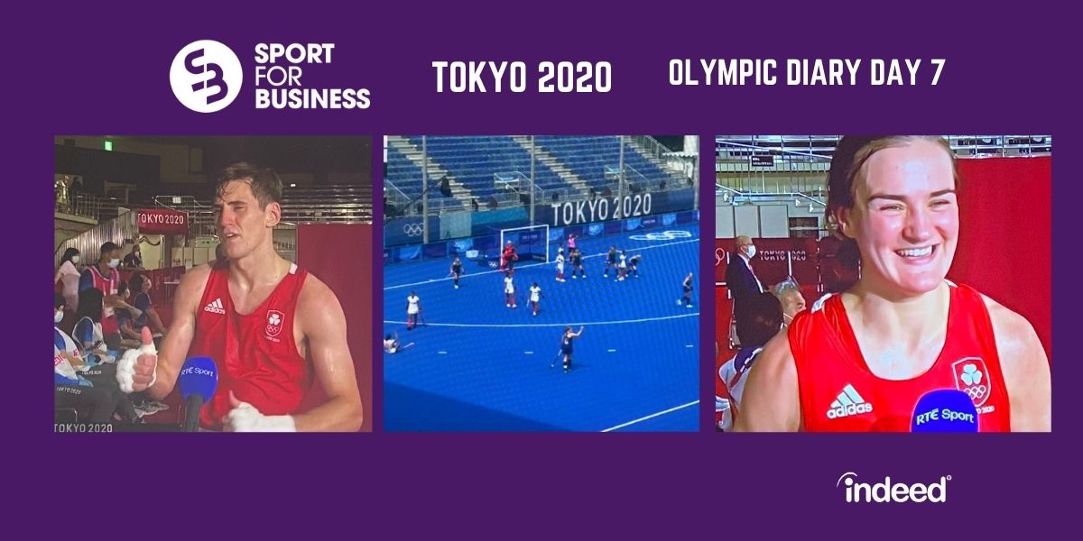 Olympic Diary Tokyo 2020 Day Seven