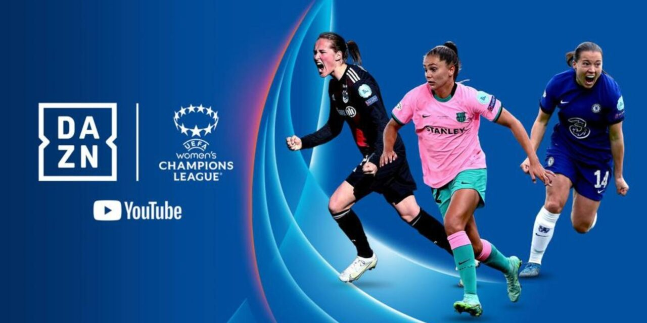 Women's Champions' League Free to Air on DAZN