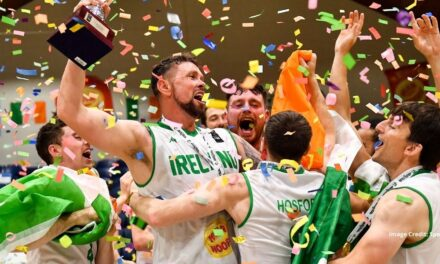 Ireland Champions of Europe in Small Countries Basketball