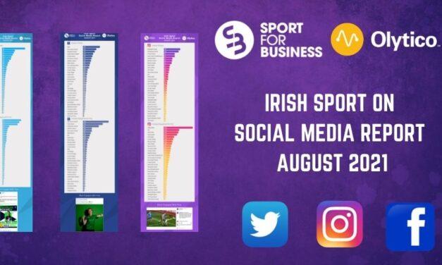 Irish Sport on Social Media – August 2021