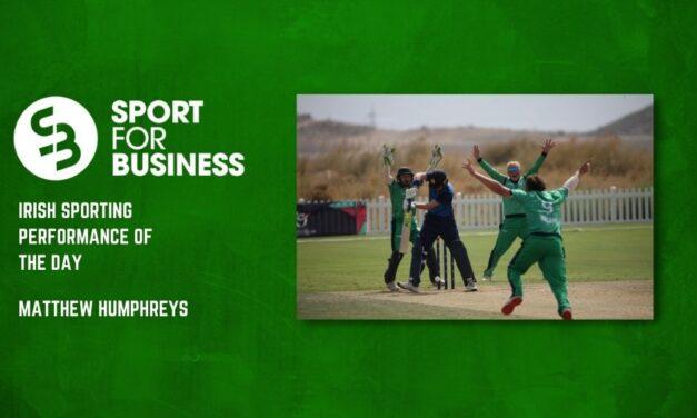 Irish Sporting Performance of the Day
