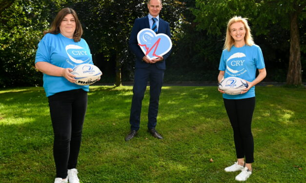Leinster Add CRY as Charity Partner