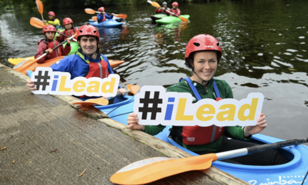 Minister Takes to Water Launching Leadership Programme