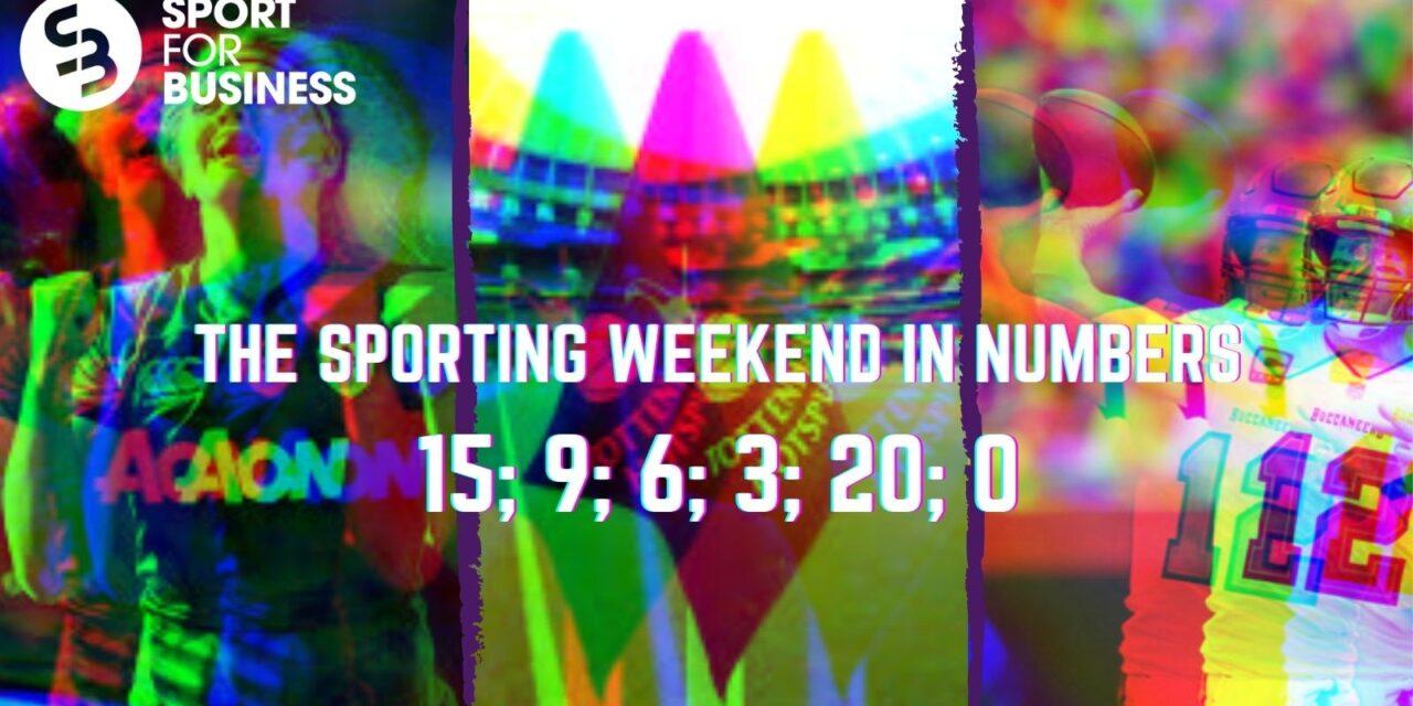 The Sporting Weekend in Numbers