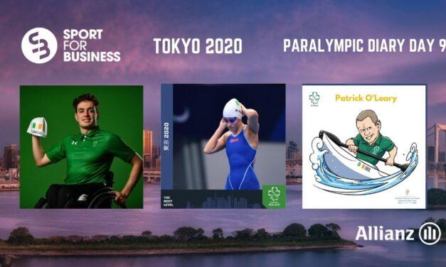 Paralympic Diary Tokyo 2020 Day 9