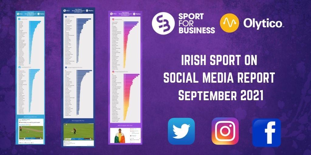 Irish Sport on Social Media – September 2021