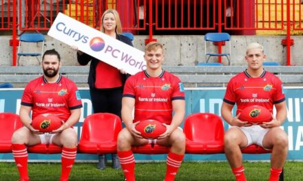 New Technology Partnership for Munster Rugby
